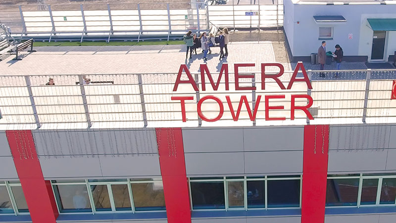 amera tower rooftop view