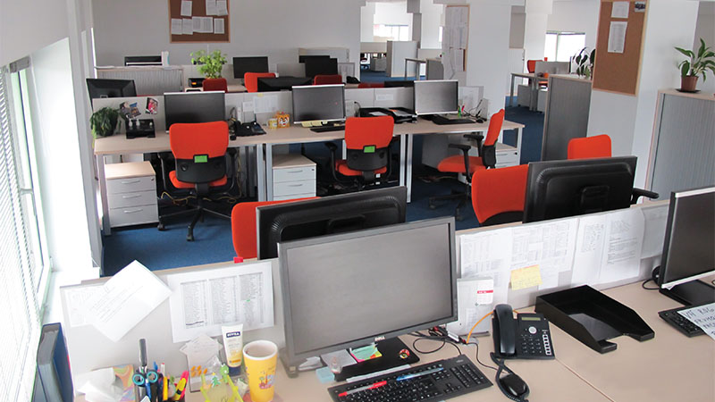 office interior from amera tower building