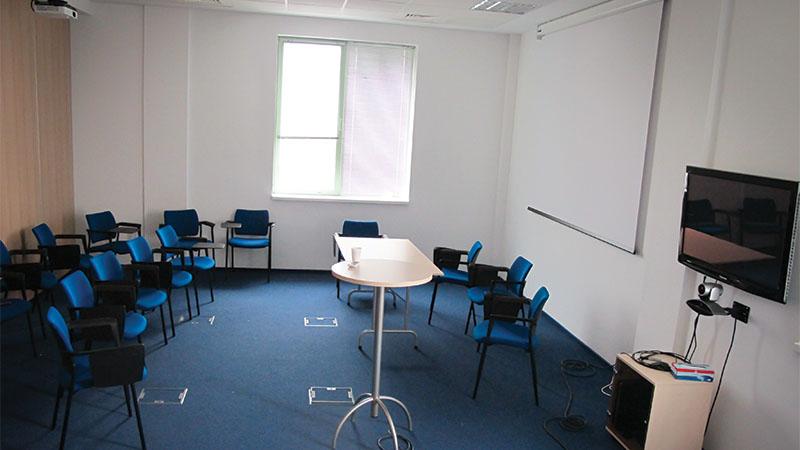presentation room, conferene room, IT room from amera tower