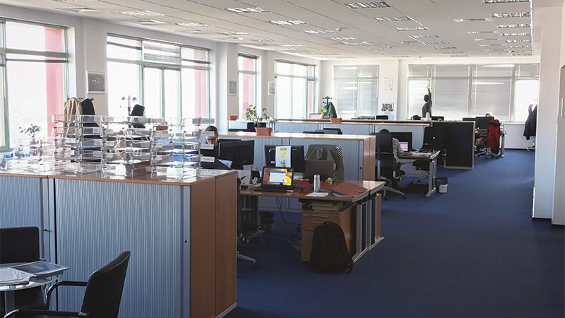 office interior from amera tower
